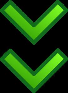 groene pijlen